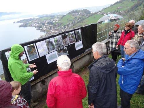 Einblick in die Geologie oberhalb der Laugneri. (Bild: Gemeinde Weggis)