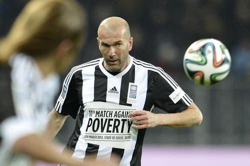 Einer der «grössten Franzosen» der letzten Jahrzehnte: Zinédine Zidane. (Bild: Keystone)
