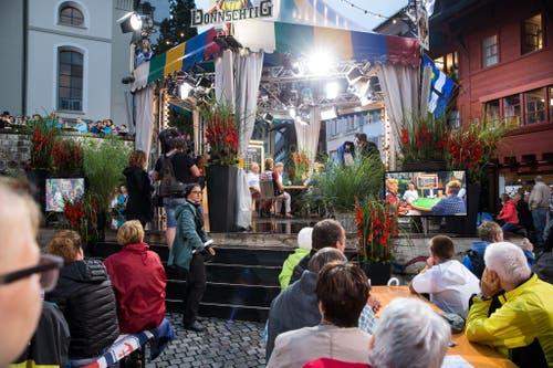 Donnschtig-Jass heute live aus dem Städtli Willisau. (Bild: Manuela Jans-Koch / Neue LZ)