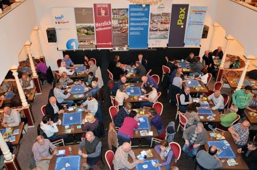 Wie im Vorjahr nahmen an der Vorausscheidung im «Hirschen» in Sursee 131 Personen teil (26. Oktober). (Bild: Claudia Surek)