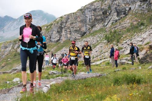 38 Männer und neun Frauen nahmen am Marathon teil. (Bild: Roger Zbinden (Neue LZ))