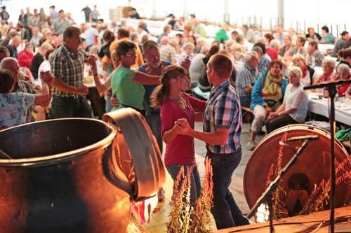 Am Opanair Klewenalp ist am Freitag die Ländler-Chilbi das Thema. Fotografiert auf der Klewenalp bei Beckenried. (Bild: Roger Zbinden (Neue LZ))