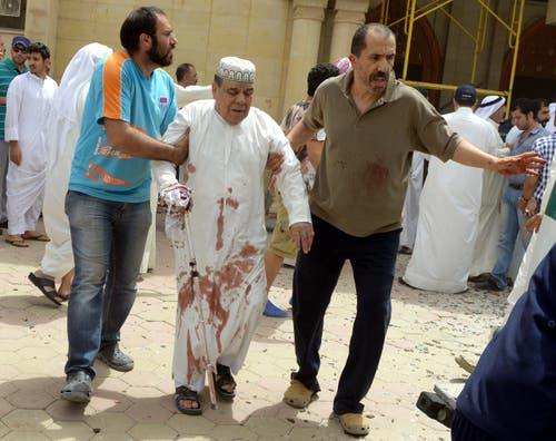 13 killed in suicide bombing at Kuwait mosque (Bild: EPA)