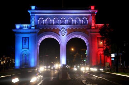 Die Arcos Vallarta in Guadalajara, Mexico. (Bild: EPA/ULISES RUIZ BASURTO)