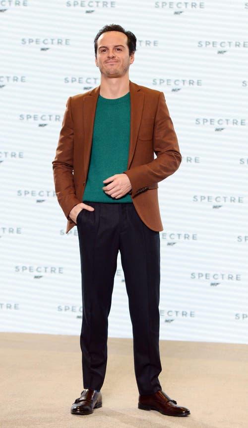 Der irische «Sherlock»-Star Andrew Scott spielt Denbigh (Bild: Keystone)
