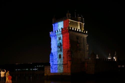 Der Torre de Belém in Lissaabon. (Bild: EPA/ANTONIO COTRIM)