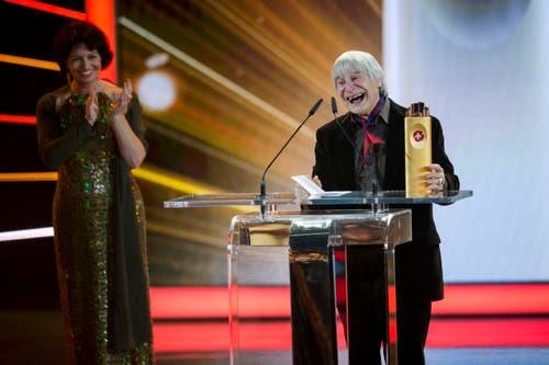 Im Januar 2014 wurde Dimitri mit dem Lifetime SwissAward 2013 ausgezeichnet. (Bild: Keystone / Ennio Leanza)