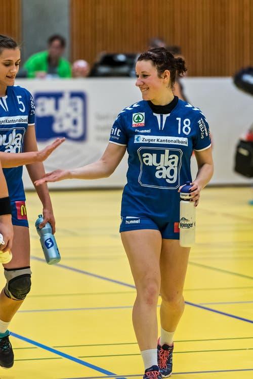 Ria Estermann, rechts, und Martina Raber. (Bild: Christian H.Hildebrand / ZZ)