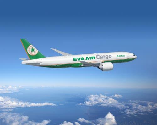 Boeing 777F der Eva Air Cargo. (Bild: BOEING / HO)