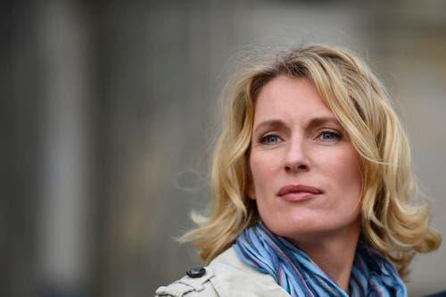 Schauspielerin Maria Furtwängler in der Rolle der Tatort-Kommissarin Charlotte Lindholm, am 14. Mai 2012 in Hannover. (Bild: Keystone)