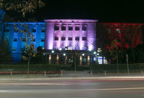 Das Verwaltungsgebäude in Pristina. (Bild: Ap Photo/Visar Kryeziu)