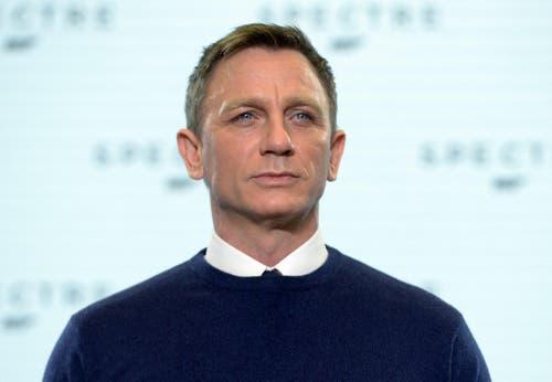 Hauptdarsteller Craig kündigte an, dass «Spectre» in Teilen eine Fortsetzung des Erfolgsfilmes «Skyfall» von 2012 werden wird. (Bild: Keystone)