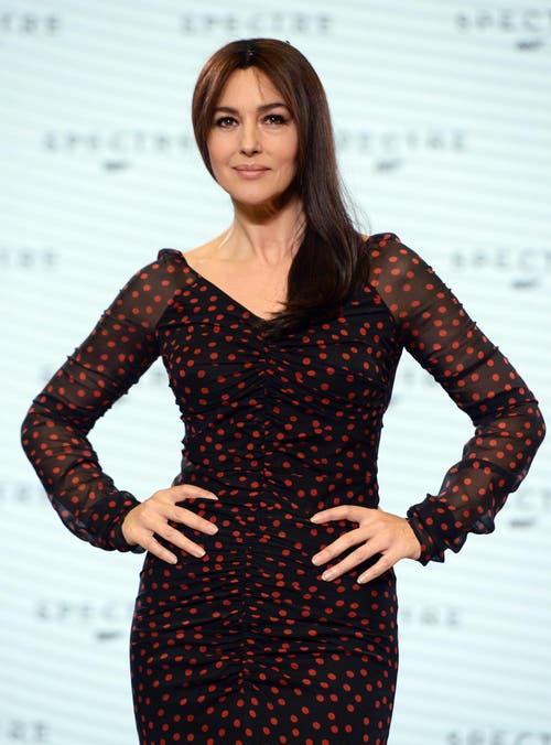 ...ebenfalls im Film auftreten wird die 50-jährige Italienerin Monica Bellucci. (Bild: Keystone)