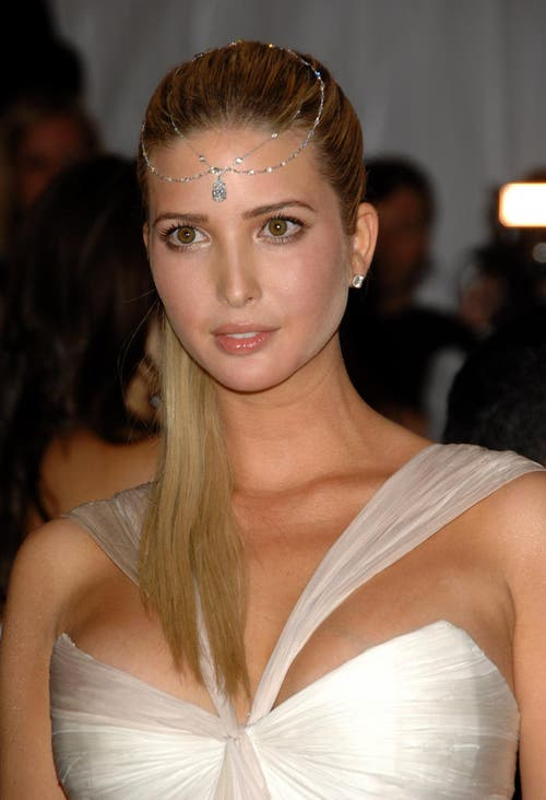 Ivanka Trump an der Met-Gala in New York, am 5. Mai 2008. (Bild: Keystone)