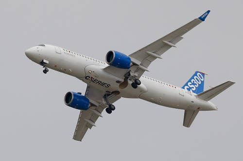 Bombardier CS 300 (Bild: Francois Mori)