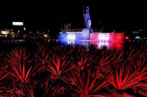 Die Statue der Minerva in Guadalajara (Mexiko). (Bild: EPA/ULISES RUIZ BASURTO)