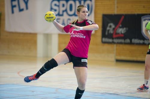 Spono-Topskorerin Lisa Frey erzielte 10 Tore, fünf auf Penalty. (Bild: Corinne Glanzmann)