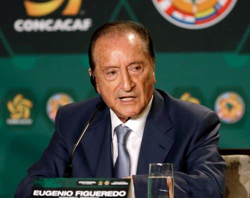 Verhaftet: Eugenio Figueredo (Uruguay), Fifa-Vizepräsident und Vizepräsident der südamerikanischen Konföderation Conmebol. (Bild: AP Photo / Alan Diaz)