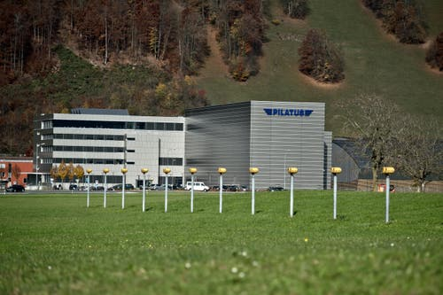 Aussenansicht des neuen Gebäudes. (Bild: Pius Amrein / Neue LZ)