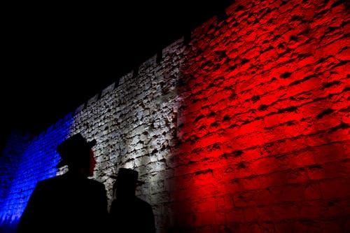 Eine Mauer im alten Jerusalem. (Bild: AP/Ariel Schalit)