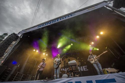 """""""Nickless"""" auf der Bühne beim Seehof. (Bild: Pius Amrein (Neue LZ))"""