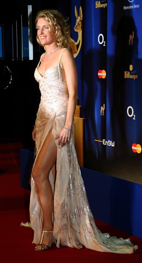 Schauspielerin Maria Furtwängler erscheint zur Verleihung des Medienpreises Bambi am 30. November 2006. (Bild: Keystone)