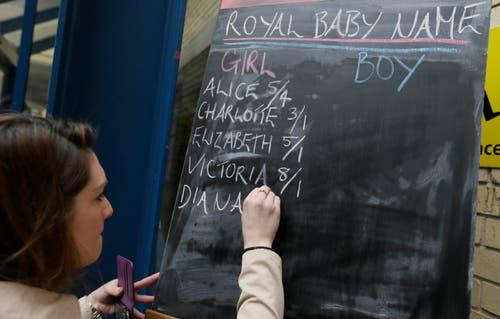 In London konnte auf mögliche Namen gewettet werden. (Bild: Tim Ireland)