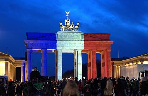 Das Brandenburger Tor in Berlin. (Bild: EPA/PAUL ZINKEN)