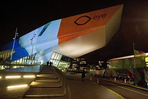 Das Eye Film Museum in Amsterdam. (Bild: EPA/EVERT ELZINGA)
