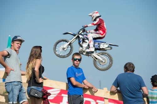 Motocross SM Lauf (Bild: Dominik Wunderli / Neue LZ)
