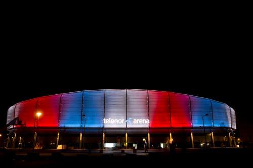 Die Telenor Arena in Baerum (Norwegen). (Bild: EPA/TORSTEIN BOE)