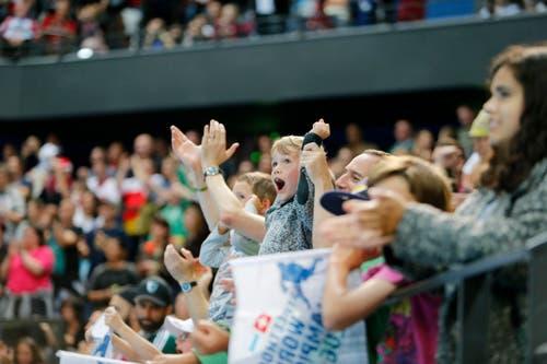 Grosser Jubel in der Arena bei einem Treffer der Schweiz. (Bild: Stefan Kaiser (Neue ZZ))