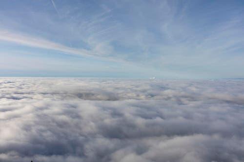 Blick von der Rigi über das Nebelmeer. (Bild: Keystone)