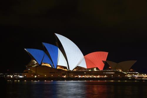 Das Opernhaus in Sydney. (Bild: EPA/DAN HIMBRECHTS)