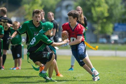 Somit bleibt das Innerschweizer Team nach vier Saisonspielen ungeschlagen und ist Zweiter. (Bild: Dominik Wunderli (LZ))