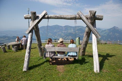 Impressionen des Country Openair am Samstag auf der Klewenalp. (Bild: Manuela Jans (Neue LZ))