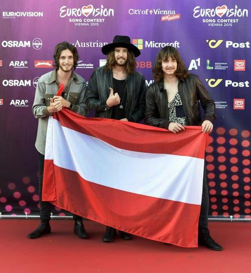 Die Band 'The Makemakes', Österreich. (Bild: Keystone)