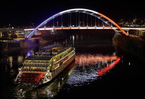 Eine Brücke in Nashville. (Bild: AP/Mark Humphrey)
