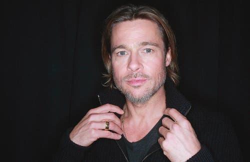 Ein Gesicht, das partout nicht altern will: Brad Pitt in einer Aufnahme von 2011. (Bild: Keystone)