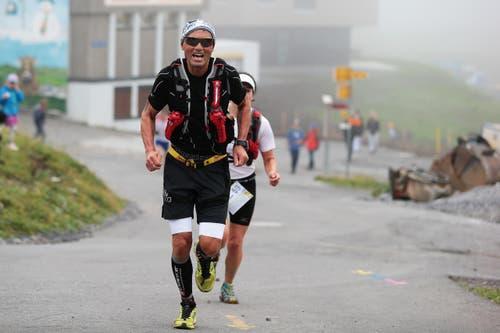 Teilnehmer des Mountainrun 2015. (Bild: Roger Zbinden (Neue LZ))