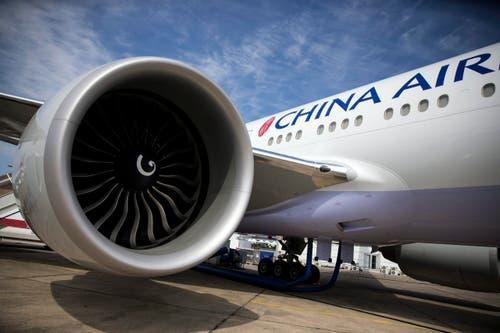 Eine Boeing 737-300 ER von China Airlines. (Bild: ETIENNE LAURENT)