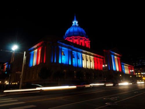 Die San Francisco City Hall. (Bild: EPA/JOHN G. MABANGLO)