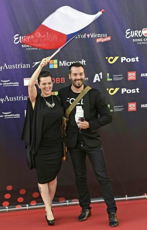 Marta Jandova und Vaclav Noid Barta, Tschechien. (Bild: Keystone)