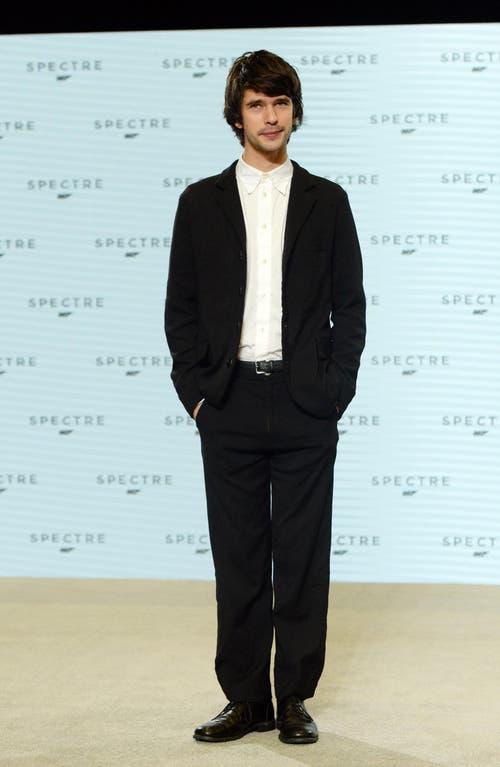 Der britische Schauspieler Ben Whishaw spielt Q. (Bild: Keystone)