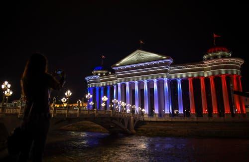 Das Museum für Archäologie in Skopje, Mazedonien. (Bild: EPA/GEORGI LICOVSKI)