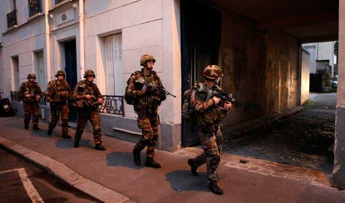 APTOPIX FRANCE PARIS ATTACKS (Bild: Keystone)