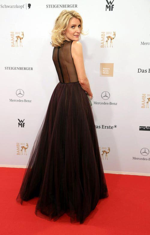 Maria Furtwängler erscheint zur Bambi-Verleihung am 22. Novmber 2012 in Düsseldorf. (Bild: Keystone)