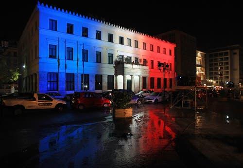 Die Stadthalle in Athen. (Bild: EPA/SIMELA PANTZARTZI)