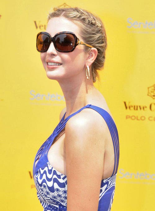 Ivanka Trump am Veuve Clicquot Polo Classic, am 27. Juni 2010. (Bild: Keystone)
