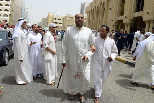Eight killed in explosion at Shiite mosque in Kuwait City (Bild: EPA)